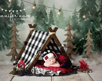Newborn Photography Prop Tent Cover Only