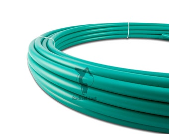 Teal We Meet Again Polypro Hoop. Affordable. Sized to YOUR body. Just right. Made with Precision.