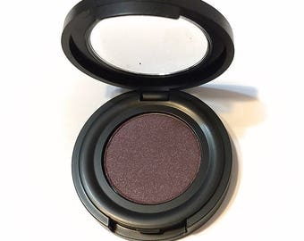 ORGANIC TWILIGHT Pressed Mineral Eyeshadow - Natural Plum Eye Shadow - Botanical Plant Makeup - Organic Gluten Free Vegan Mineral Makeup
