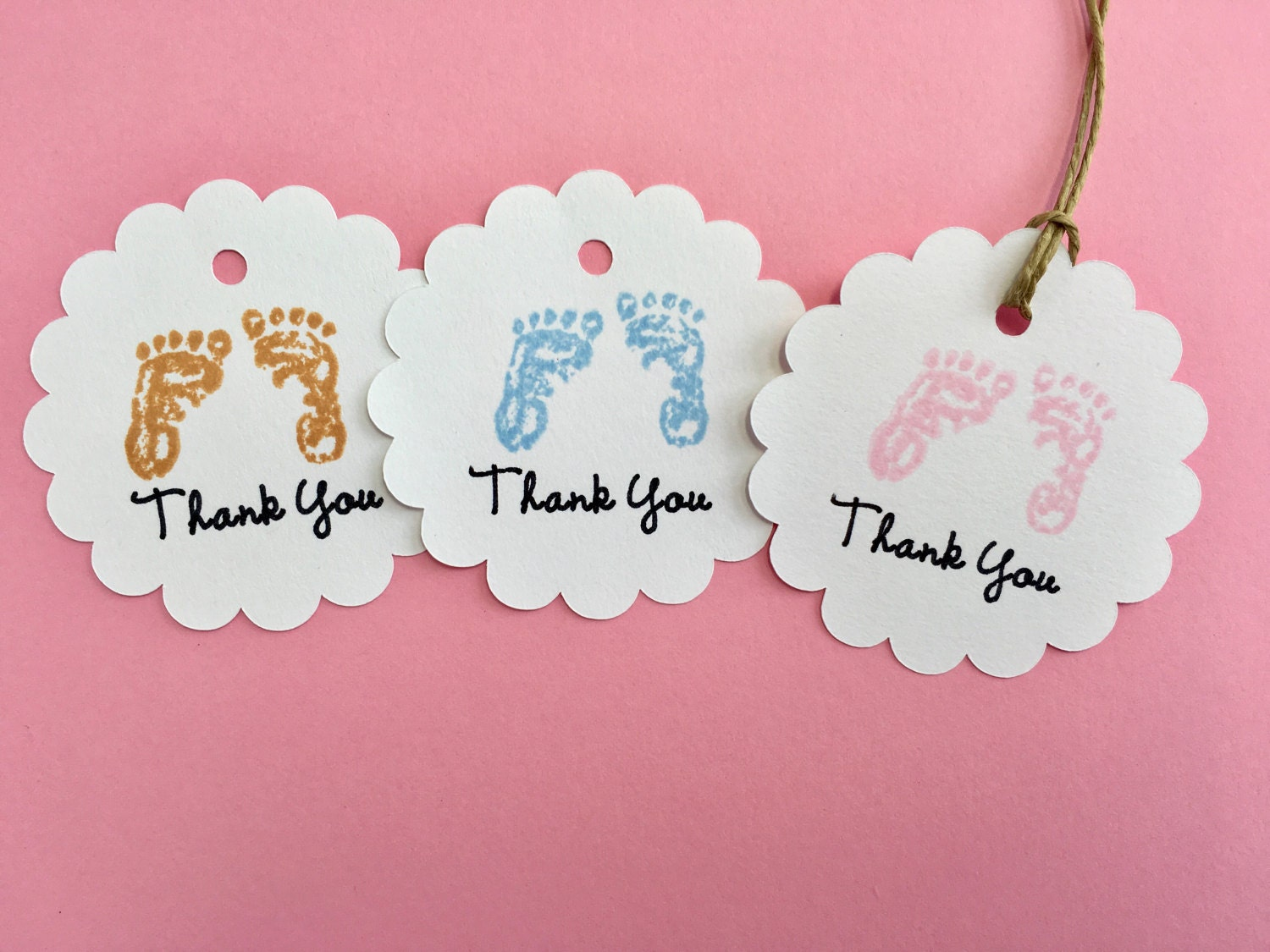 This is a graphic of Comprehensive Baby Gift Tags