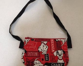 101 Dalmation disney inspired kids crossbody bag.