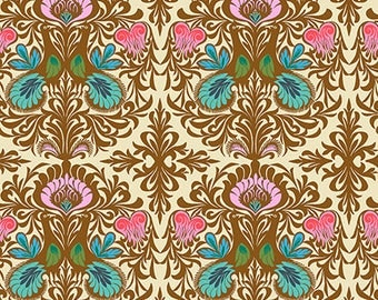 It Takes Two in Bone by Amy Butler from the Soul Mate collection for Free Spirit #CPAB004.8Bone by 1/2 yard