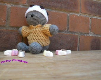 Inchoate Ice Cream Sweater and Hat crochet pattern