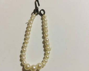 Barbie early 60's graduated pearl necklace 1960's Barbie accessory