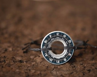 Rule of Fifths Washer Bracelet Resin Coated