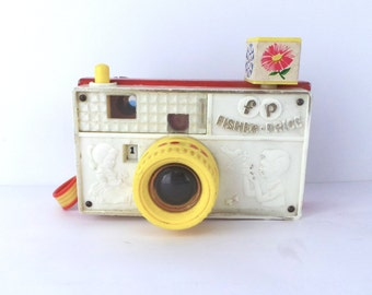 Fisher Price Picture Story Camera #784 Made In 1967, Vintage Toys, 1960s Toys
