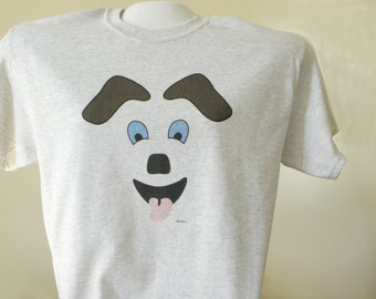 DOG Crewneck Tshirt, by Pam Ponsart of Pam's Fab Photos, Your choice of  3 Colors; Unisex Sizing, Gift Idea for Dog Lover