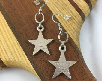 Star Zipper Earrings