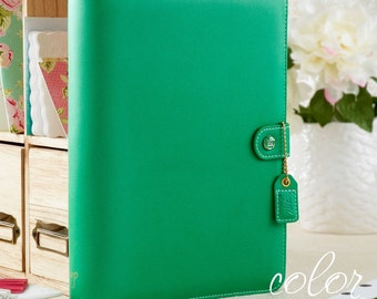 Webster's Pages Summer Green Color Crush A5 Planner Binder Complete Kit NONDATED Calendar Pages  - IN STOCK