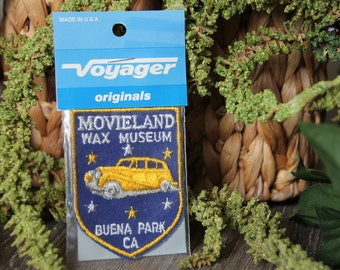 Vintage Movieland Wax Museum Collective Patch
