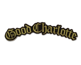 Good Charlotte Embroidered Iron-On Patch