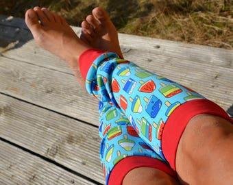 Leg warmers Jersey popsicles