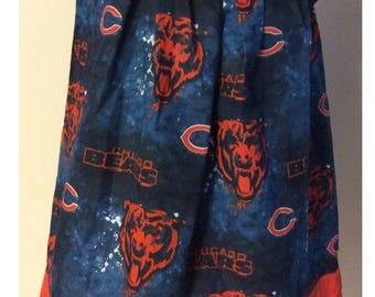 A beautiful Chicago Bears Pillowcase Dress