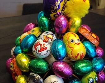 Easter eggs,chocolate rabbits & cabury  cream egg