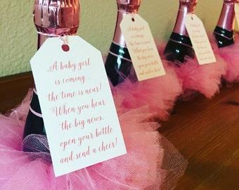 Water bottle tutus, Tutu Party Favors, Tea party favors, Tutu favors, party favor tutu, tutu, birthday favors, birthday tulle favors,