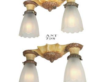 1920s light fixture | etsy