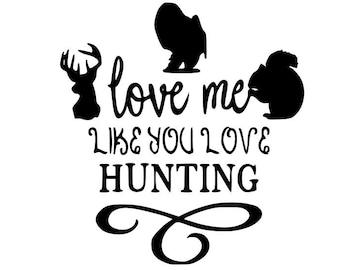 Download Love hunting svg   Etsy