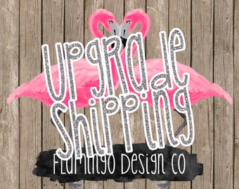 Upgrade shipping 3 DAYS INVITATIONS ONLY