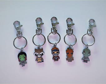 YOU CHOOSE Character Backpack Clip/Keychain