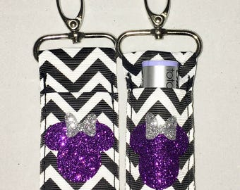 Gifts for Summit, Lip gloss holder, Chapstick holder, lip balm holder, keychain,Disney, D2 Summit, Worlds,Cheer and dance, Cheerleader gifts