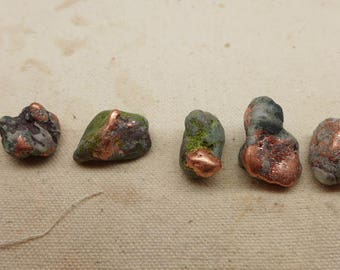 Natural Copper Nuggets - 5 #G -  Ring Size Copper Nuggets - Michigan Copper Nuggets