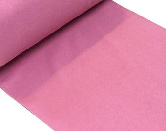 straight rib tubular fabrics, dusky pink