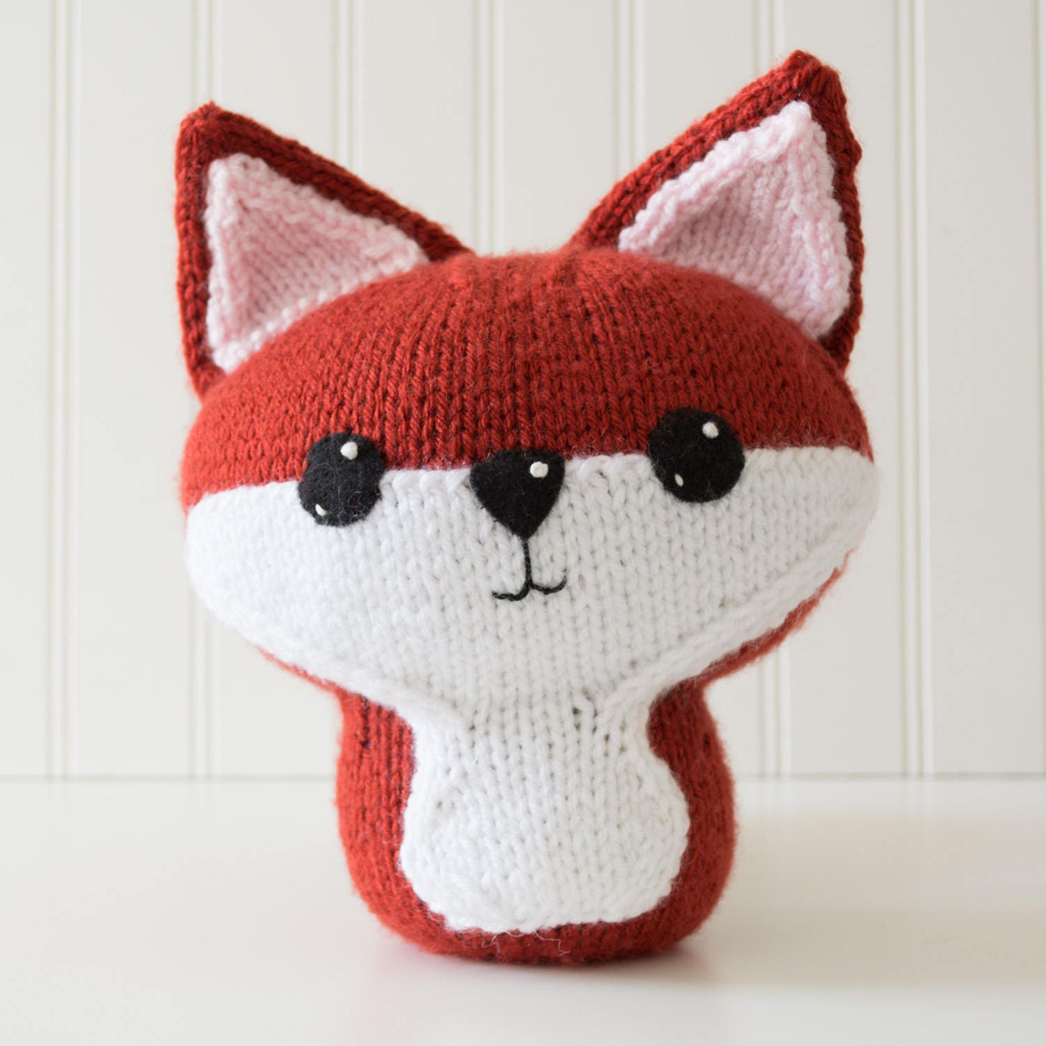 Knitting Patterns For Forest Animals : Knit Fox Amigurumi Pattern Forest Animal Amigurumi