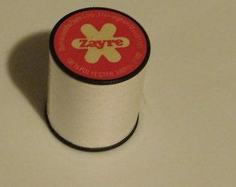 Zayre White Thread