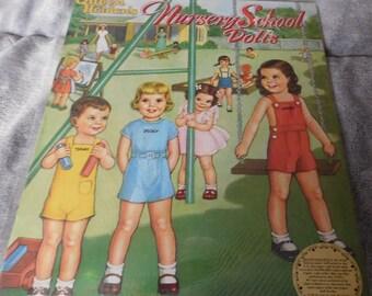 Queen Holden's Nursery School Paper Dolls