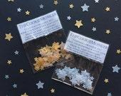 Edible Wafer Star Sprinkles