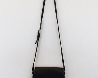 brown cross body vintage coach purse