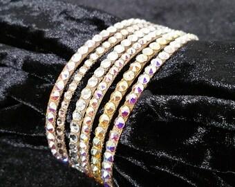 Unify Swarovski Rhinestones Ballroom Bracelet