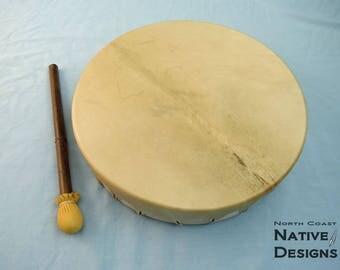 Hand Drum - Deer rawhide - 14 inch