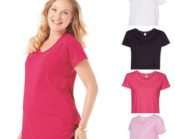 Maternity Scoop Neck Tee