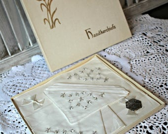 Vintage hankies! In box!