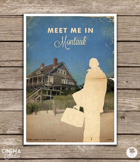 Eternal Sunshine Of The Spotless Mind Montauk By Cinemastudio