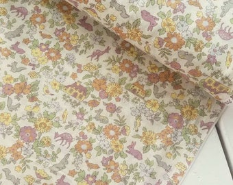 Memoire a Paris Cotton Lawn 2017 - Cottage(Cream) - Lecien - Japan, Inc