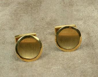 Gold 18k Handmade Cufflinks