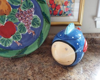 Coco Dowling Fish Cookie Jar