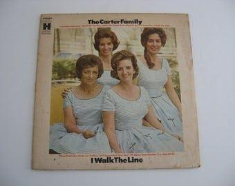 The Carter Family - I Walk The Line - Circa 1967