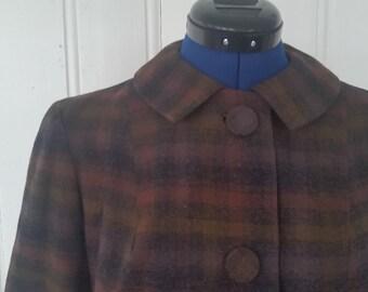1960s Jackie O • Pendleton Suit
