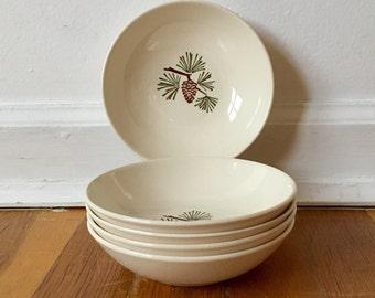 Stetson Brown Pinecone Bowl Set