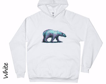Polar Bear Hoodie Unisex Tops And Tees T-shirts Mens Shirts Womens Clothing Polar Bear shirt  Cotton T-shirt Girls Tshirt Teens Tshirt