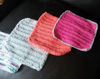 Knitted dishcloths