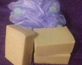 Baby Your Baby extremely gentle handmade goat's milk soap, handcut bars