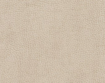 Ivory Breathable Leather Look And Feel Upholstery By The Yard | Pattern # G426