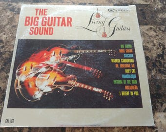 The big guitar sound vinyl record