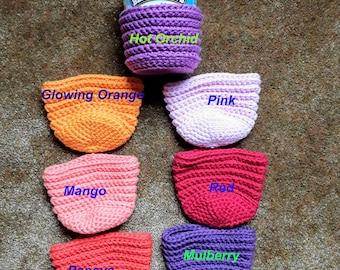 Ice Cream Cozy / Crochet Pint Cover / Ice Cream Pint Cozy / Ice Cream Pint Cover / Pint Sleeve / Reusable Ice Cream Cozy / Ice Cream Sleeve