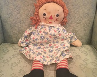 Raggedy Ann Doll circa 1961
