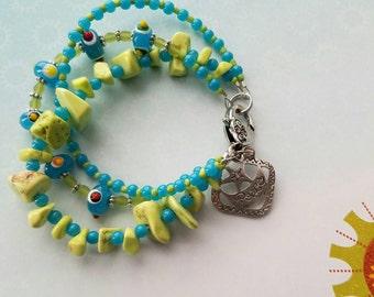 Peace Boho Bracelet